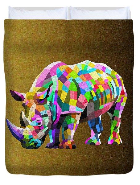 Wild Rainbow Duvet Cover