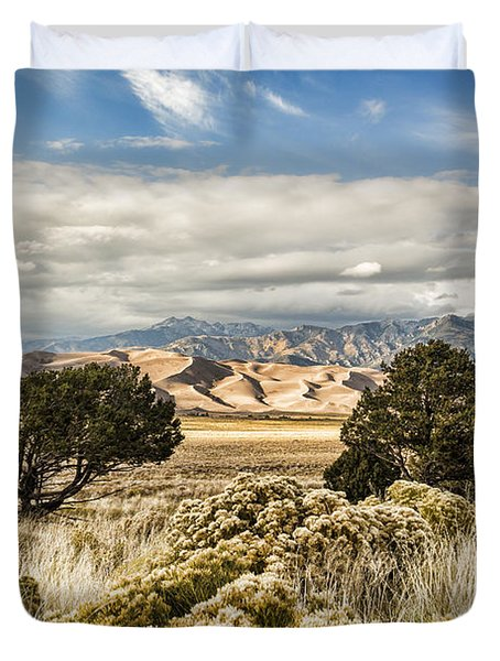 Great Sand Dunes National Park And Preserve Duvet Cover