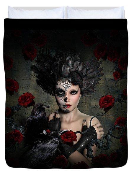 Darkside Sugar Doll Duvet Cover