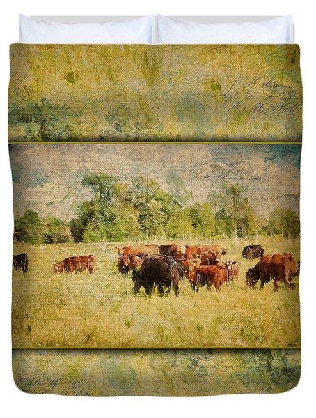 The Herd Duvet Cover
