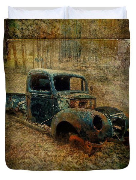Resurrection Vintage Truck Duvet Cover