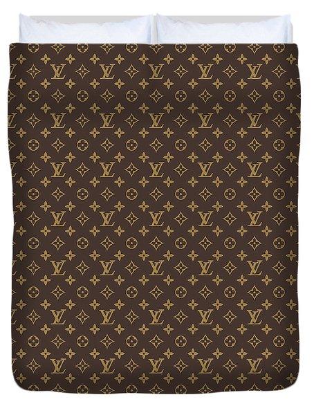 Louis Vuitton Texture Duvet Cover
