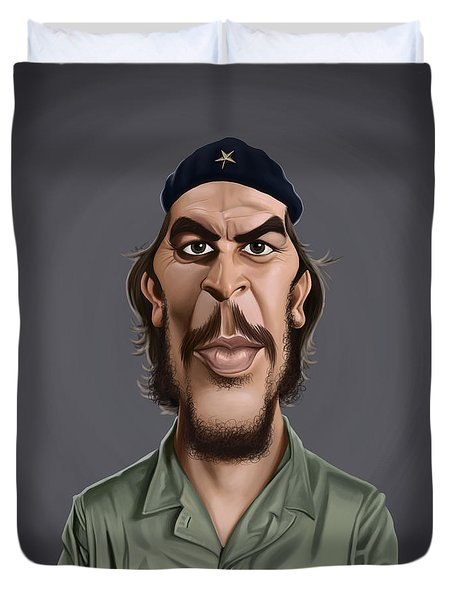 Celebrity Sunday - Che Guevara Duvet Cover