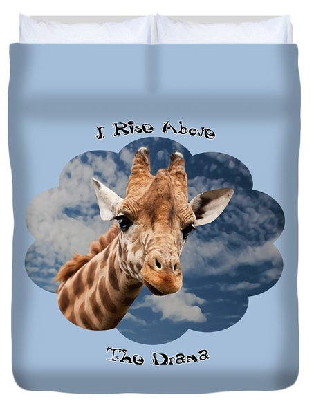 Rise Above Duvet Cover by Judi Saunders