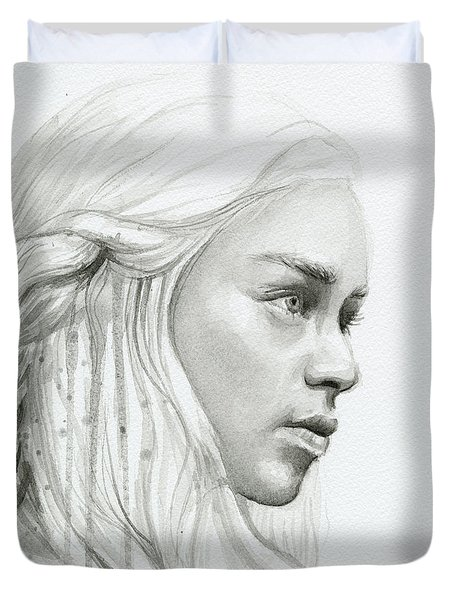 Daenerys Mother Of Dragons Duvet Cover