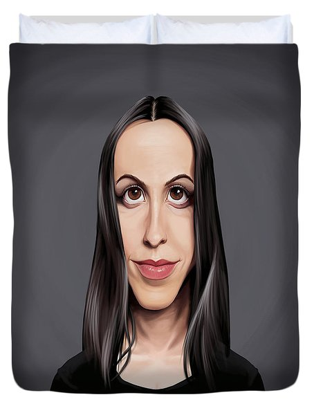 Celebrity Sunday - Alanis Morissette Duvet Cover