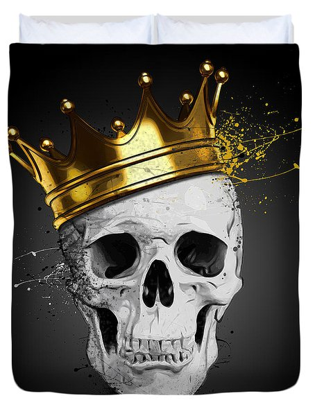 Royal Skull Duvet Cover