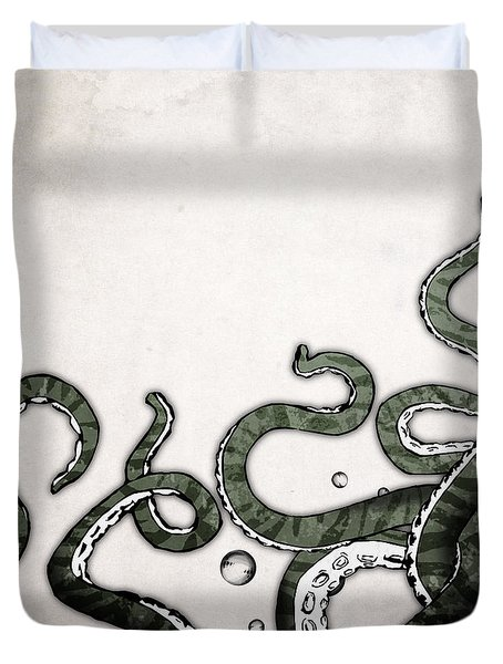 Octopus Tentacles Duvet Cover