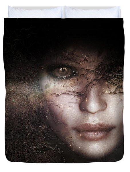 Gaia Goddess Duvet Cover