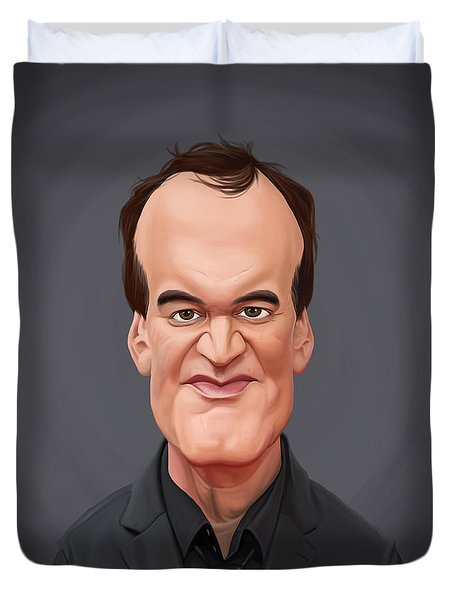 Celebrity Sunday - Quentin Tarantino Duvet Cover