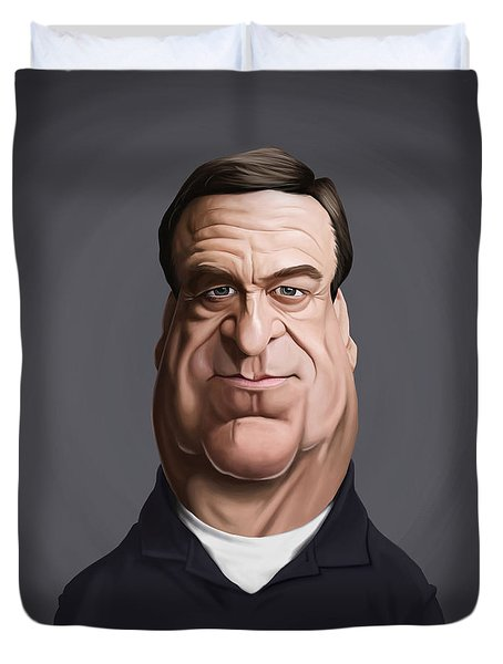 Celebrity Sunday - John Goodman Duvet Cover