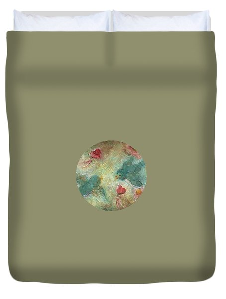 Lovebirds Duvet Cover by Mary Wolf