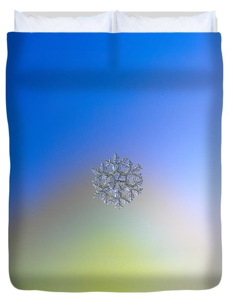 Snowflake Photo - Gardener's Dream Alternate Duvet Cover
