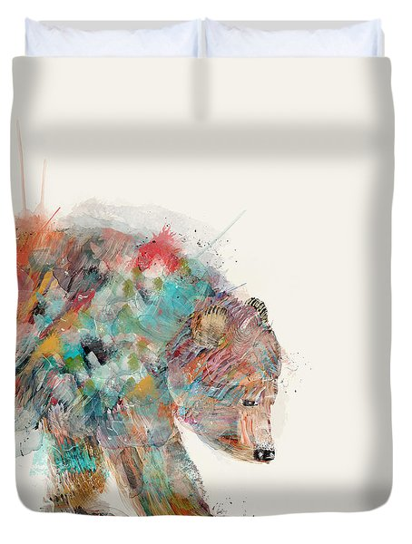 In Nature Bear Duvet Cover