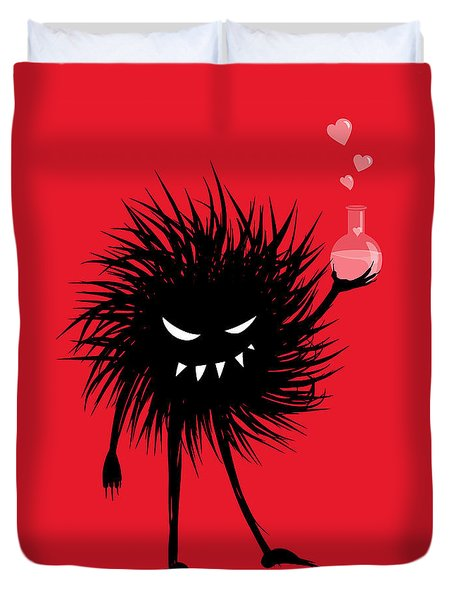 Evil Bug With A Love Potion Duvet Cover