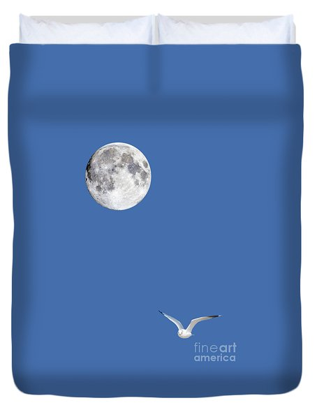 Solitude Duvet Cover by Michael Peychich