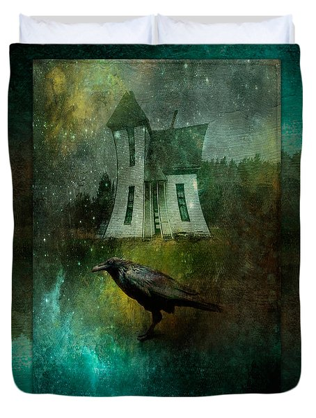 Crow House Duvet Cover