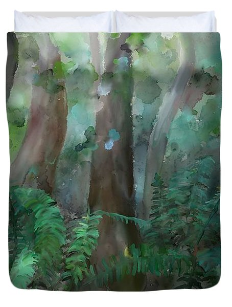 Jungle Duvet Cover