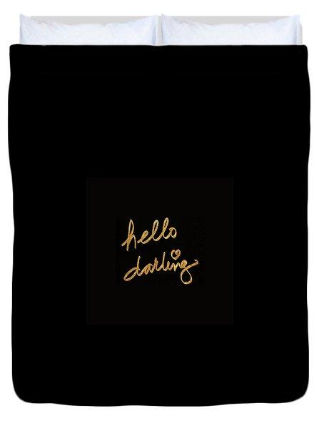 Darling Bella I Duvet Cover
