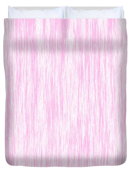 Pink Fiber Duvet Cover
