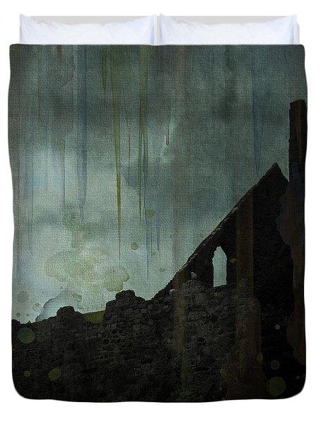 Celtic Ruins Duvet Cover