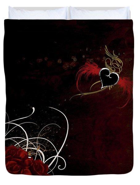 One Love, One Heart Duvet Cover