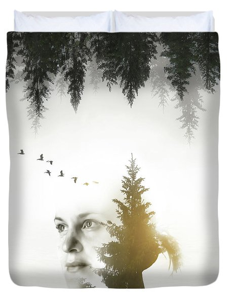 Soul Of Nature Duvet Cover