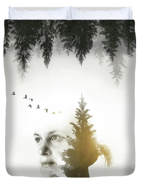 Duvet Cover featuring the photograph Soul Of Nature by Nicklas Gustafsson