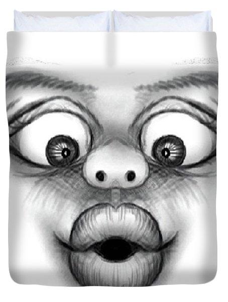Magic Face Duvet Cover