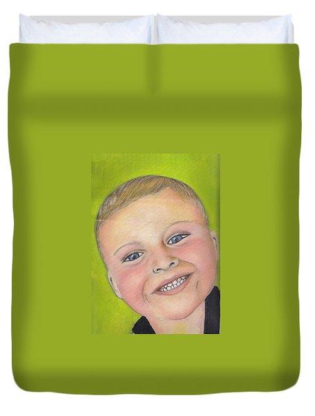 Brody's Smile Duvet Cover