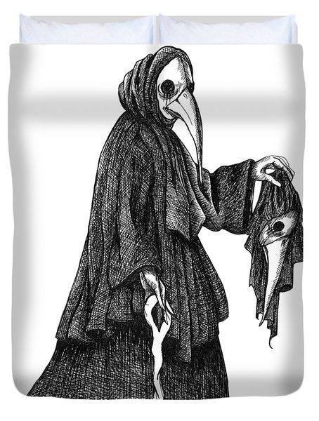 Plague Doctor Duvet Cover