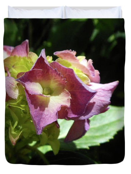 Hydrangea Flowers Fit For A Fairy Duvet Cover