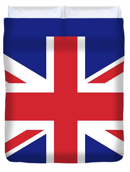 Union Jack Ensign Flag 1x2 Scale Duvet Cover