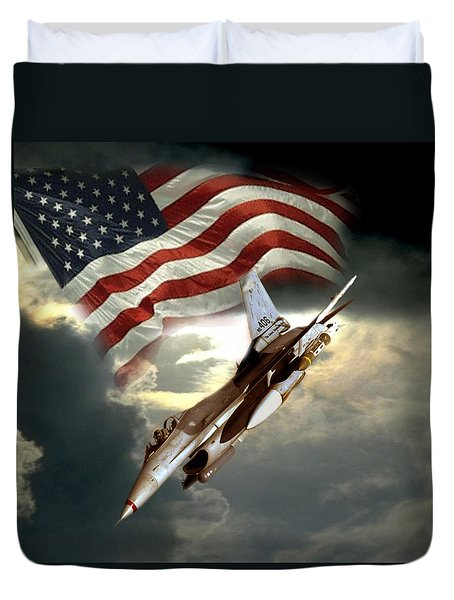 American Feedom  Duvet Cover