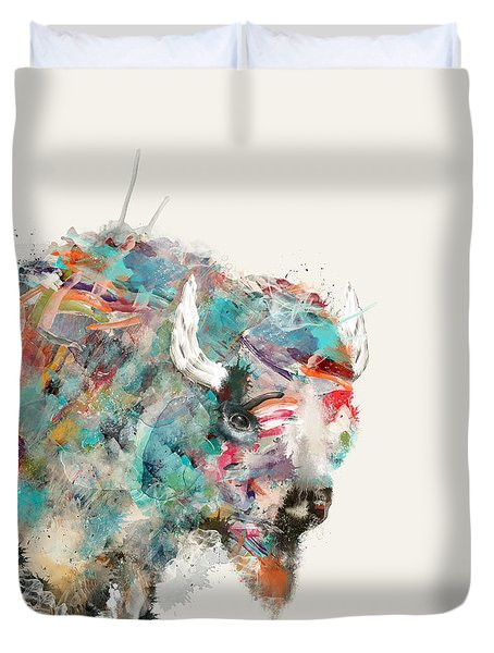 The Buffalo Duvet Cover