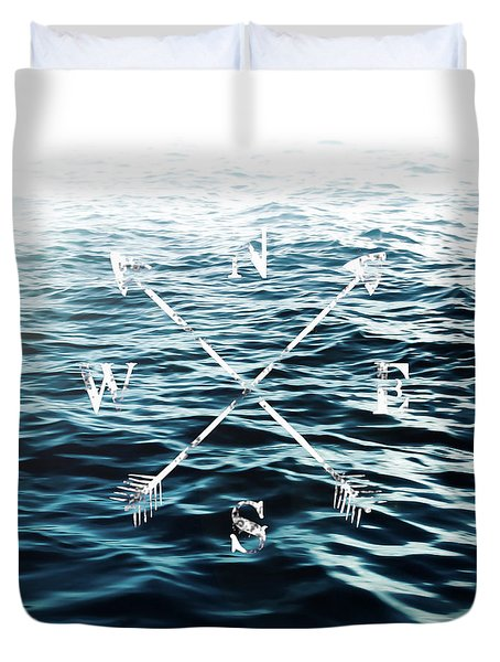 Duvet Cover featuring the photograph Winds Of The Sea by Nicklas Gustafsson