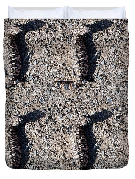 Traveler The Gila Monster Duvet Cover