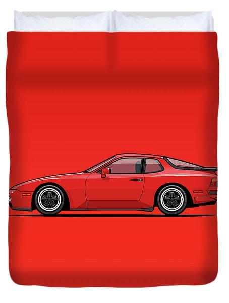 India Red 1986 P 944 951 Turbo Duvet Cover