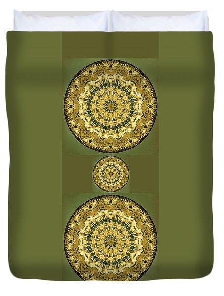 Goldenrod Mandala -  Duvet Cover