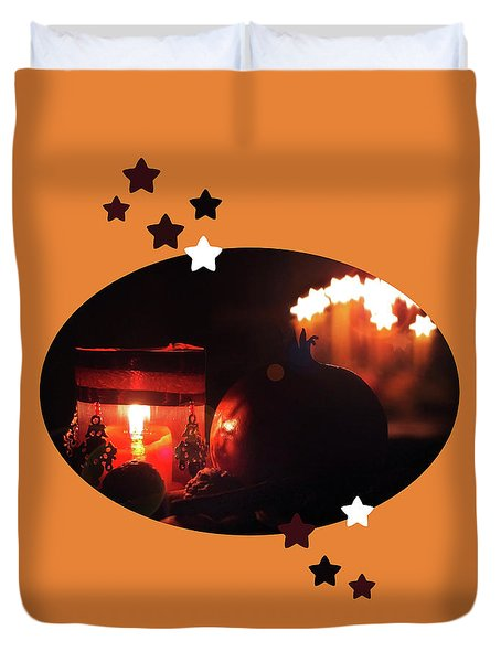 Cozy Advent Duvet Cover by AugenWerk Susann Serfezi