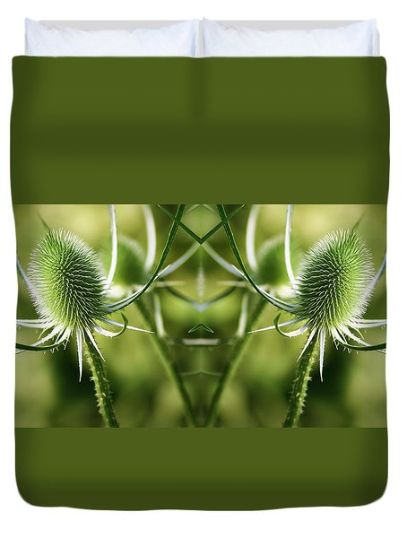 Wonderful Teasel - Duvet Cover