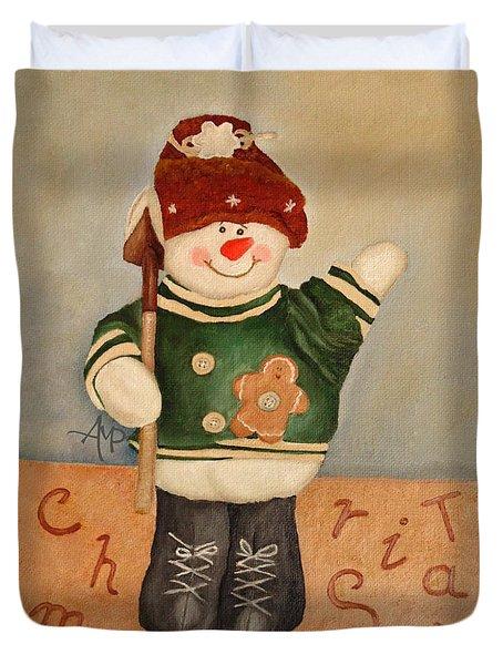 Snowman Junior Duvet Cover