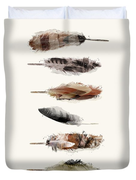 Free Fall Feathers Duvet Cover