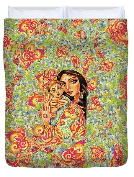 Goddess Blessing Duvet Cover