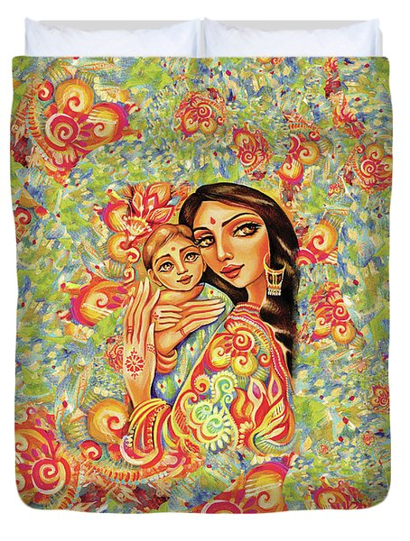 Goddess Blessing Duvet Cover