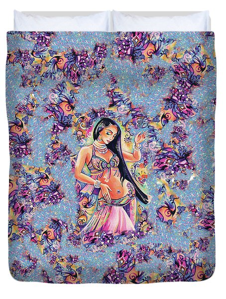 Dancing In The Mystery Of Shahrazad Duvet Cover