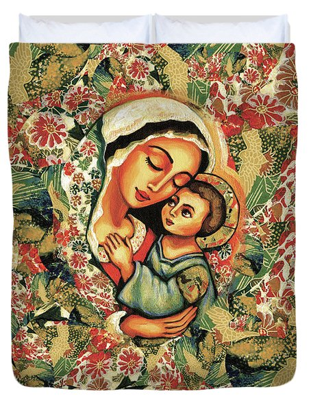 The Blessed Mother Duvet Cover