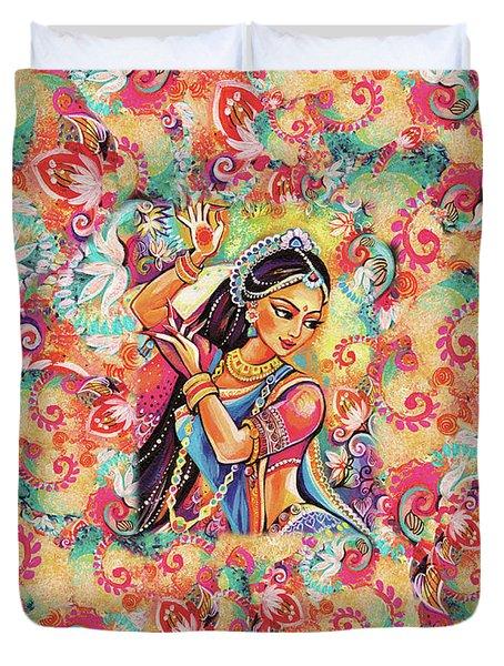Dancing Of The Phoenix Duvet Cover