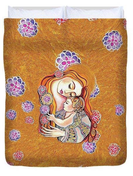 Little Angel Sleeping Duvet Cover