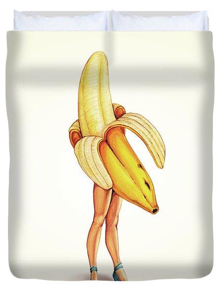 Fruit Stand - Banana Duvet Cover